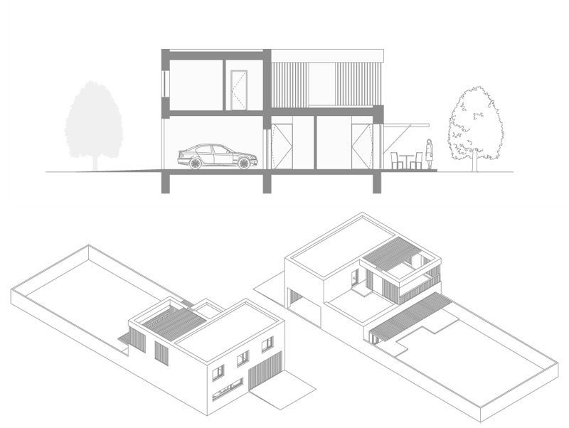 таунхаус townhouse zaarchitects