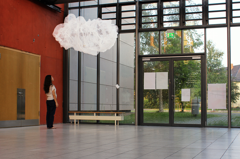 interactive installation cloud