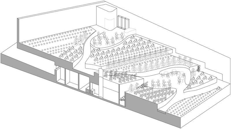 3d-section-of-restaurant-greenhouse